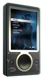 Halo Zune - Front