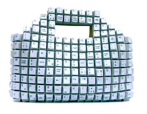 The keyboard shopping bag for geeks