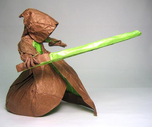 Jedi Origami Model