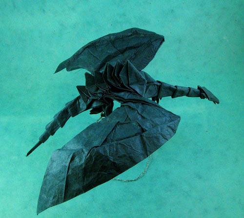 Dragon Origami Model