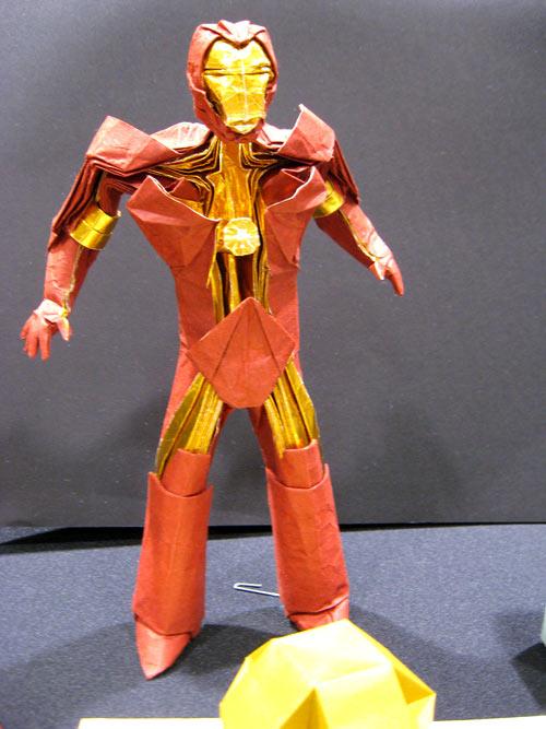Iron Man Origami Model