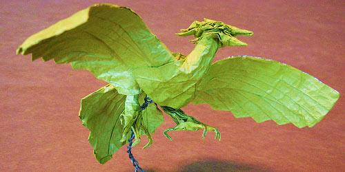 Phoenix Origami Model