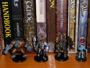 Dungeons and Dragons Tabletop RPG Books and by BrandiMillerArt