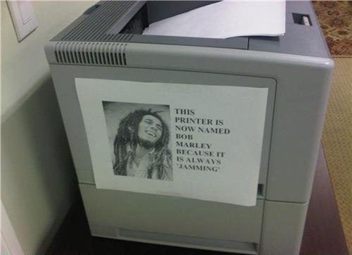 Jammin' Printer