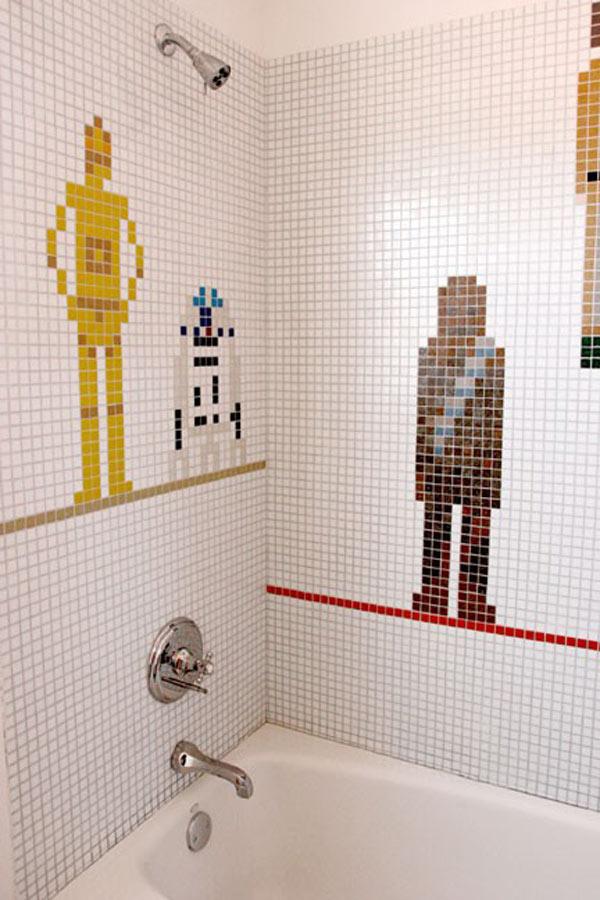Star Wars Themed Bathroom Pic
