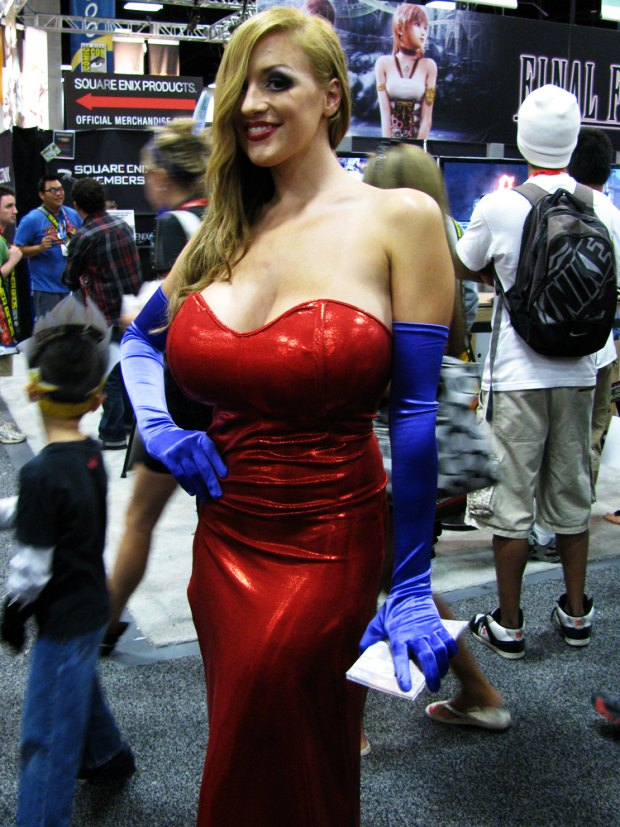 real jessica rabbit look alike