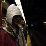 Ezio Auditore da Firenze Waiting for the Subway (New York Comic Con 2011)