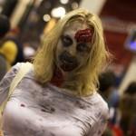 Zombie Lady (New York Comic Con 2011)