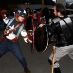 Juano as Captain America