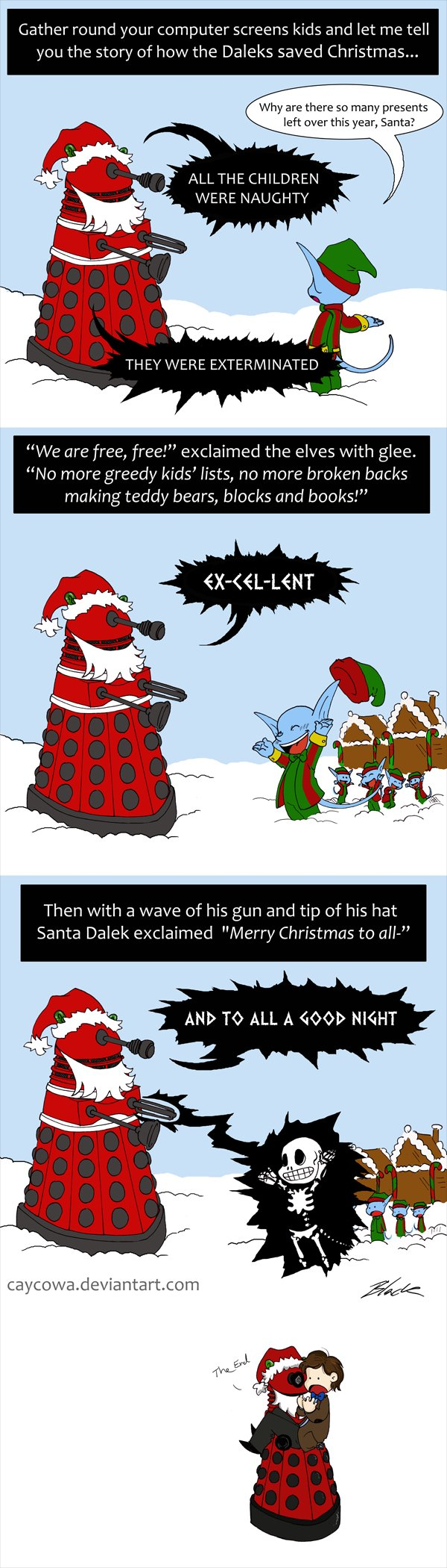 dalek christmas
