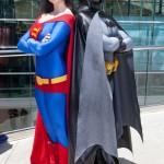 Gender Bent Justice League Supes and Bats