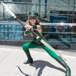 Gender Bent Justice League Green Arrow
