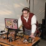 DJ Dr. Q at S.T.E.A.M.Fest; photo by Betwixt
