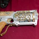 A modded Nerf gun at S.T.E.A.M.Fest; photo by Betwixt