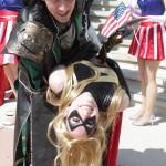 Miss Marvel and Loki - Bill Watters - SDCC 2012