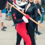 Harley Quinn and Catwoman - Hayley Sargent - SDCC 2012