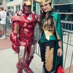 Iron Man and Loki - Hayley Sargent - SDCC 2012
