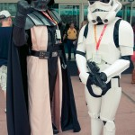 Darth Vader and Storm Trooper - Hayley Sargent - SDCC 2012
