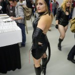 Another Catwoman at Montreal Comic Con 2012