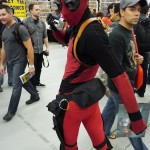 Deadpool at Montreal Comic Con 2012