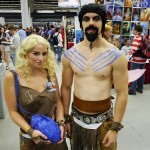 Khal Drogo and Daenerys Targaryen at Montreal Comic Con 2012