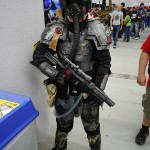 Inquisitorial Storm Trooper from Warhammer 40K - Montreal Comic Con 2012