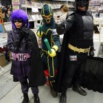 Kick-Ass (Hit Girl, Kick-Ass, Big Daddy) at Montreal Comic Con 2012