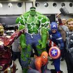 Superheroes! - Montreal Comic Con 2012