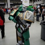 Space Marine (Warhammer) at Montreal Comic Con 2012