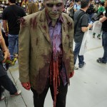 Zombie dude at Montreal Comic Con 2012