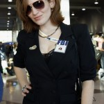 Agent Dana Scully @ New York Comic Con 2012 (NYCC)