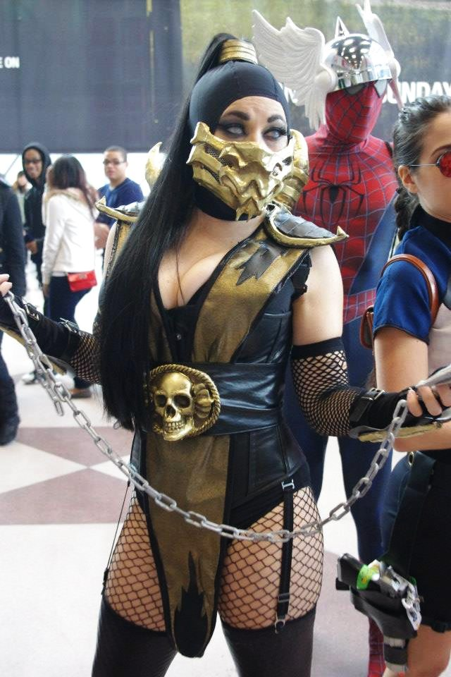 Lady Scorpion New York Comic Con