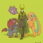 Avengers Pokemon – Loki