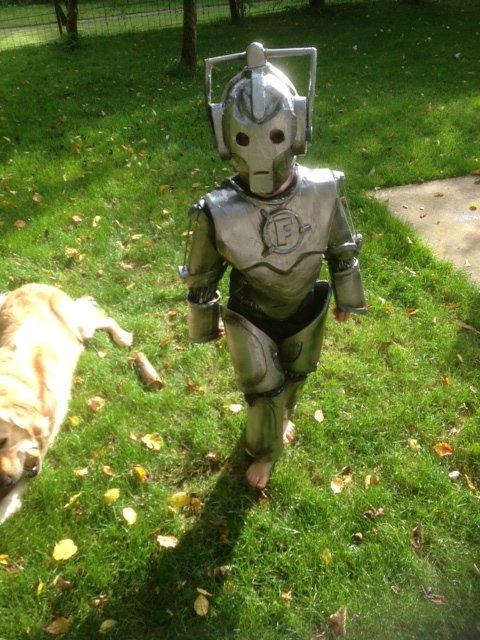 Johan K.'s Son as a Cyberman