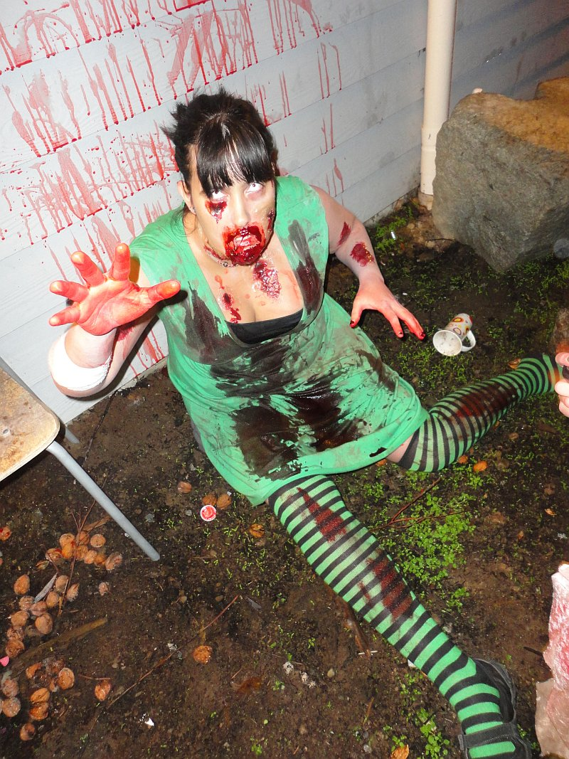 Sarah as a Very Creepy Undead