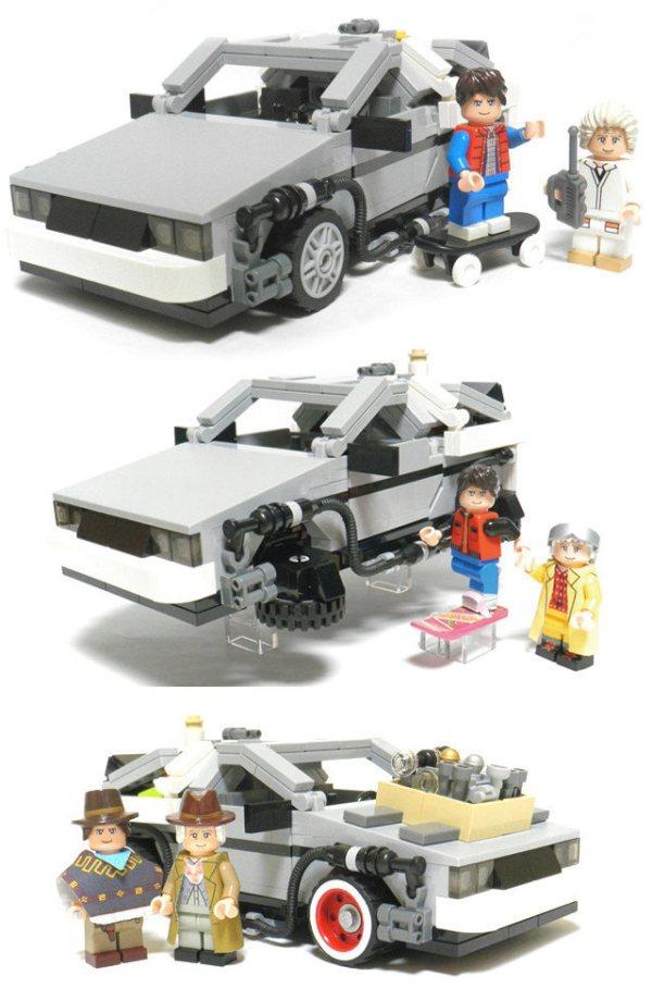 BTTF LEGO 1