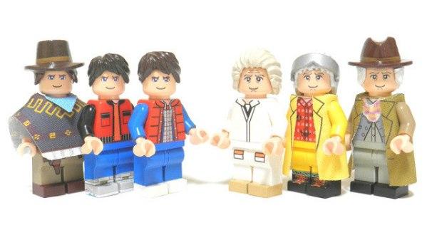 BTTF LEGO 2