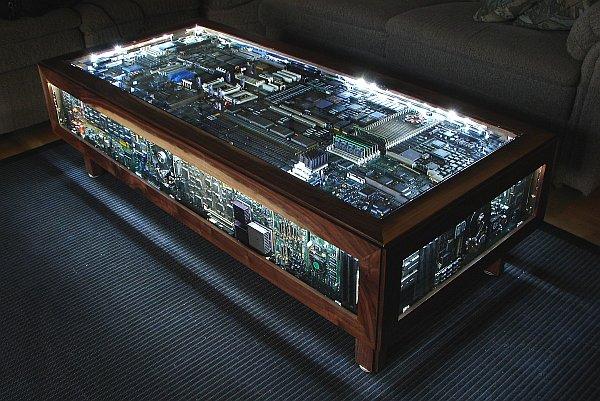 Деревянный компьютерный стол своими рук