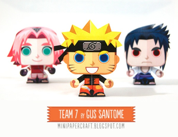 Naruto-team-7--minipapercraft-by-Gus-Santome