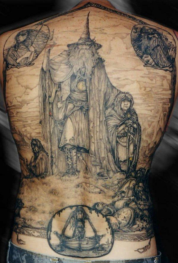 full-back-hobbit-tattoo