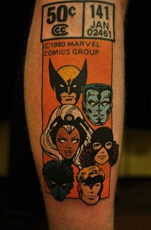 oldschool-comic-book-tattoo