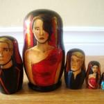 Rachel Anderson Nesting Dolls – Hunger Games Tributes