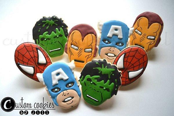 avengers-cookies
