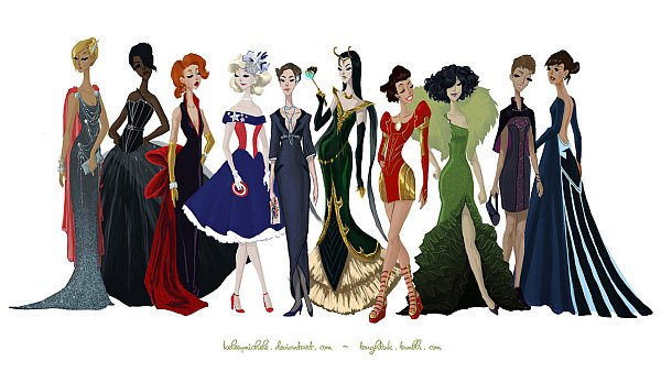 avengers-gowns