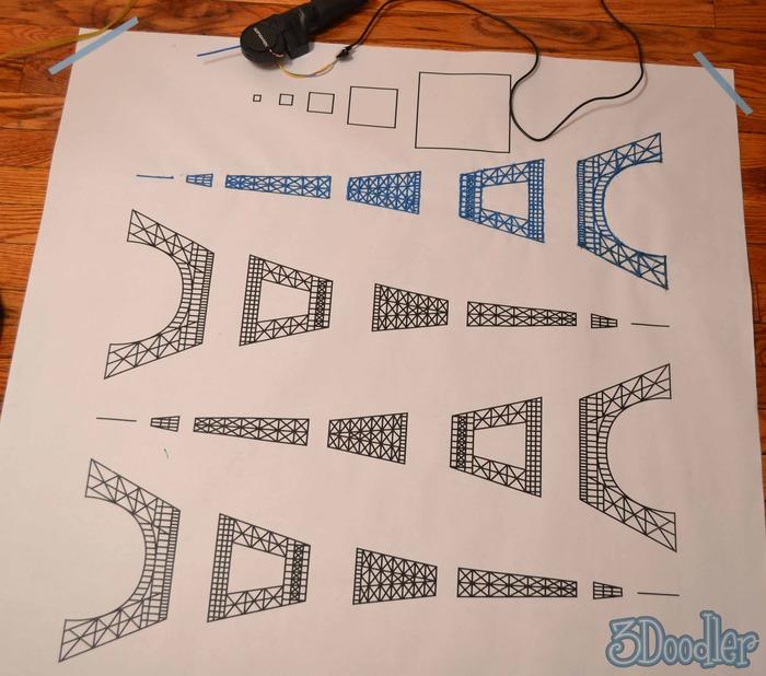 3D Printing Pen Stencil