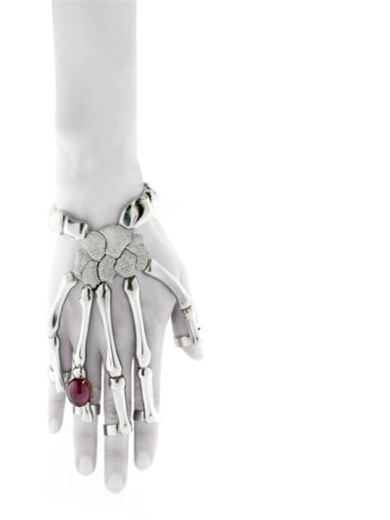 skeleton hand bracelet 2