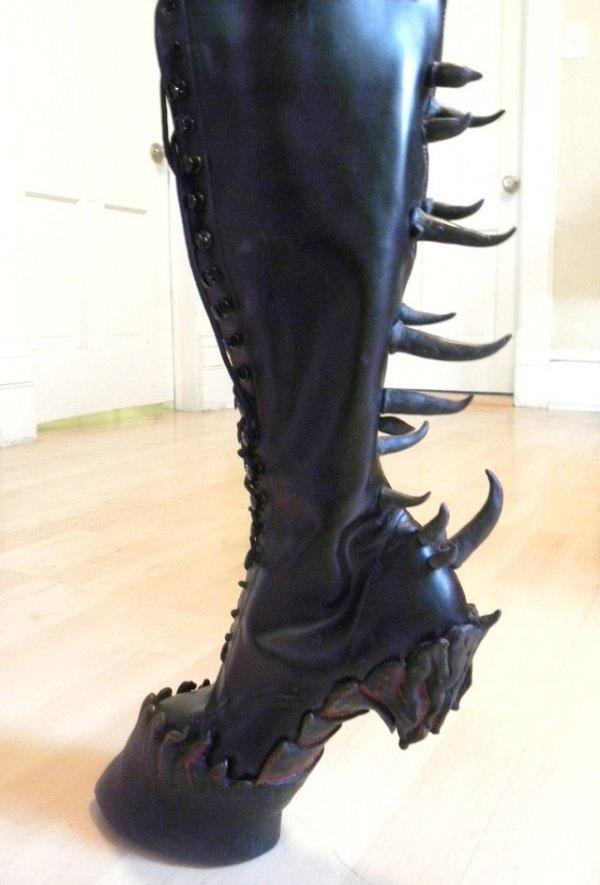 Sexy clear platform heels tacones de cristal sexys - 2 part 5