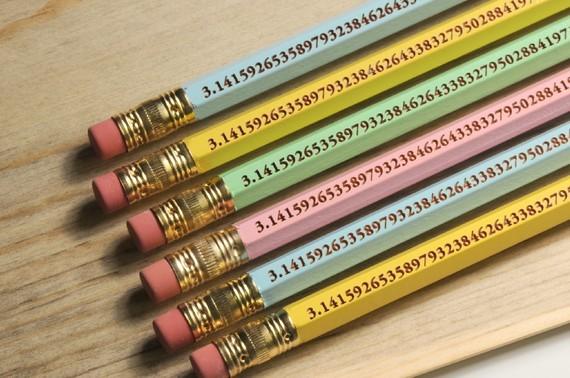 pi pencil