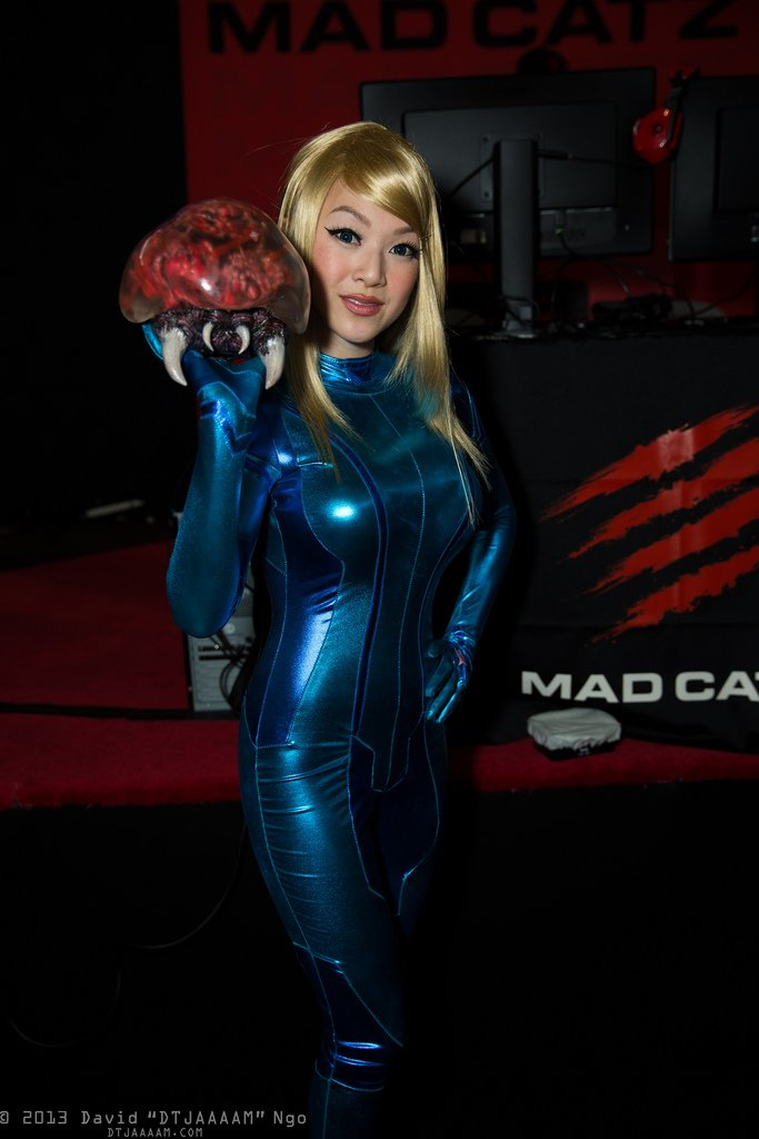 Samus zero suit DESNUDA! - YouTube