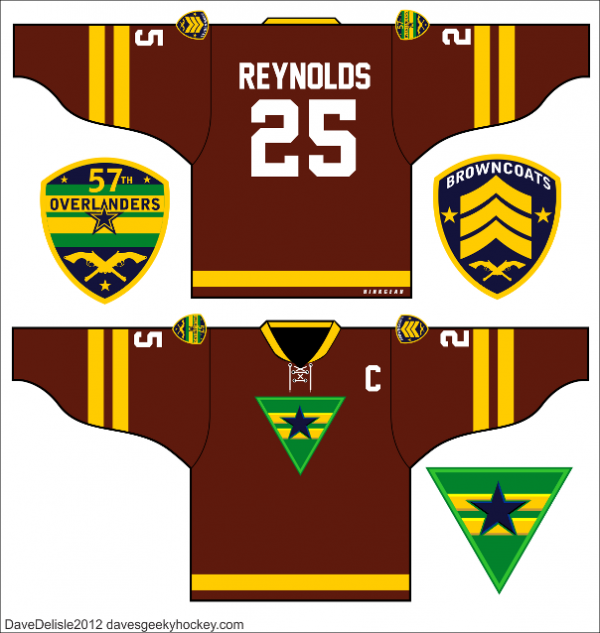 Browncoat hockey jersey